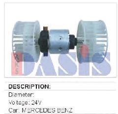 00013118 - Fűtőmotor lapát nélkül 215x215